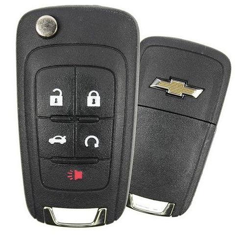 Keyless Entry Flip Remote Key 5/B