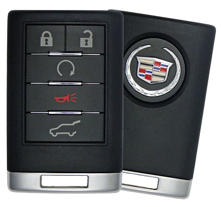 Cadillac Keyless Entry Remote (SUV) w/Remote Start