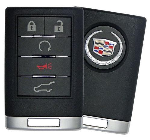 Cadillac Keyless Entry Remote (SUV) w/Remote Start