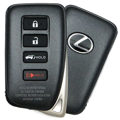 Lexus Smart Keyless Entry Remote 4/B HYQ14FBB (Hatch)