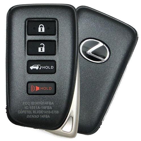 Lexus Smart Keyless Entry Remote 4/B HYQ14FBB (Hatch)