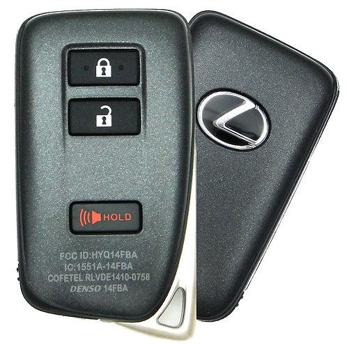 Lexus Smart Keyless Entry Remote 3/B HYQ14FBA