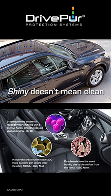 SHINY DOESN'T MEAN CLEAN