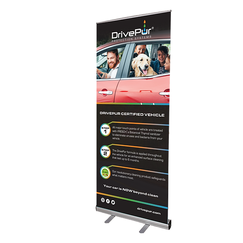 DrivePur Banner Kit Option #2