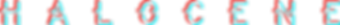 Halocene logo Glitch refraction.png