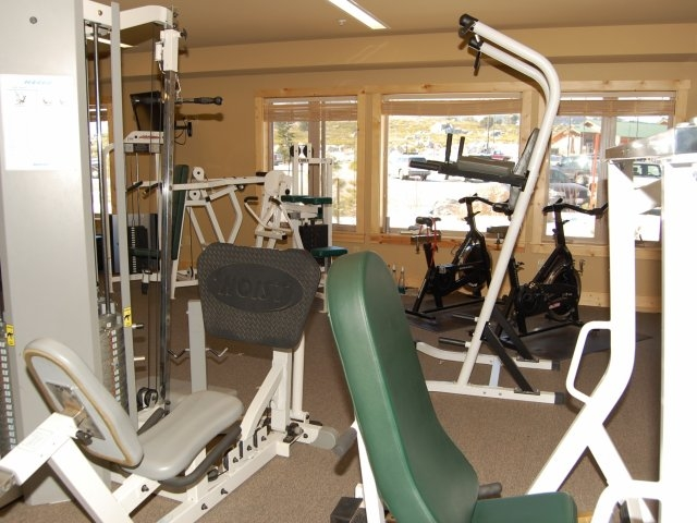 Gym at South Gateway Apartments