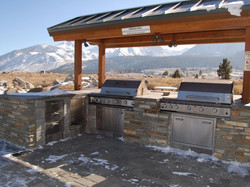 Outdoor Grill at South Gateway Apts.