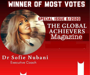 Winner of most votes - The global achievers magazine