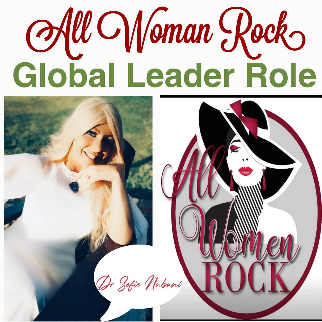 All women rock - Global leader role