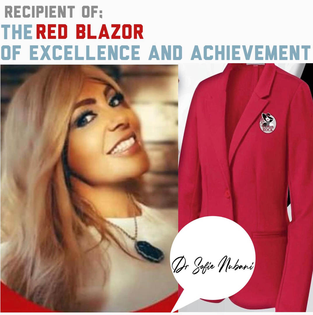 Recipient of Red Blazer of Excellence and achievement