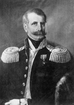 Portret gen. dyw. Dezydery Chłapowski (1788–1879) pędzla Romana Postemskiego, ok. 1854