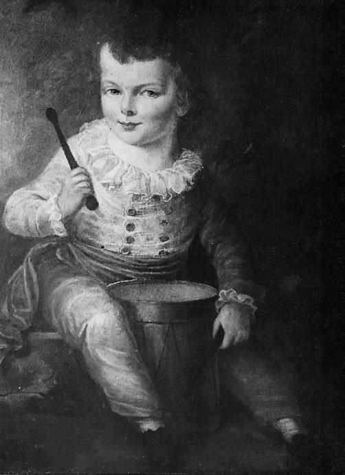 L. Hampel, Dezydery Chłapowski w stroju małego dobosza, 1783, kopia za oryginałem Józefa Pitschmana