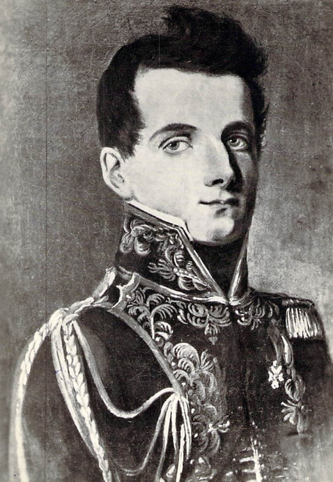 Dezydery Chłapowski w stroju gwardzisty napoleońskiego