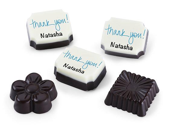 Thank You Gift - Blue Design Chocolates
