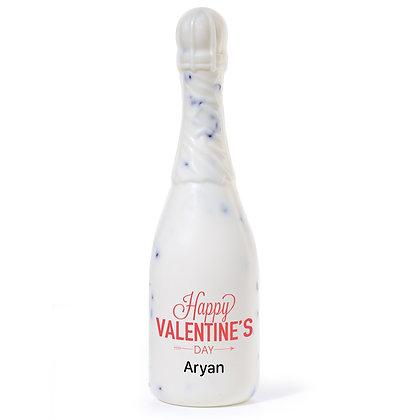 Valentine's Day Gift - Chocolate Champagne Bottle - Decorative Design