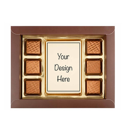 Gift Box - Printed Bar + 6 pc - DYOC