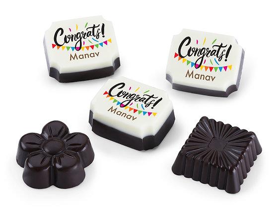 Congratulations Gift - Colourful Design Chocolates