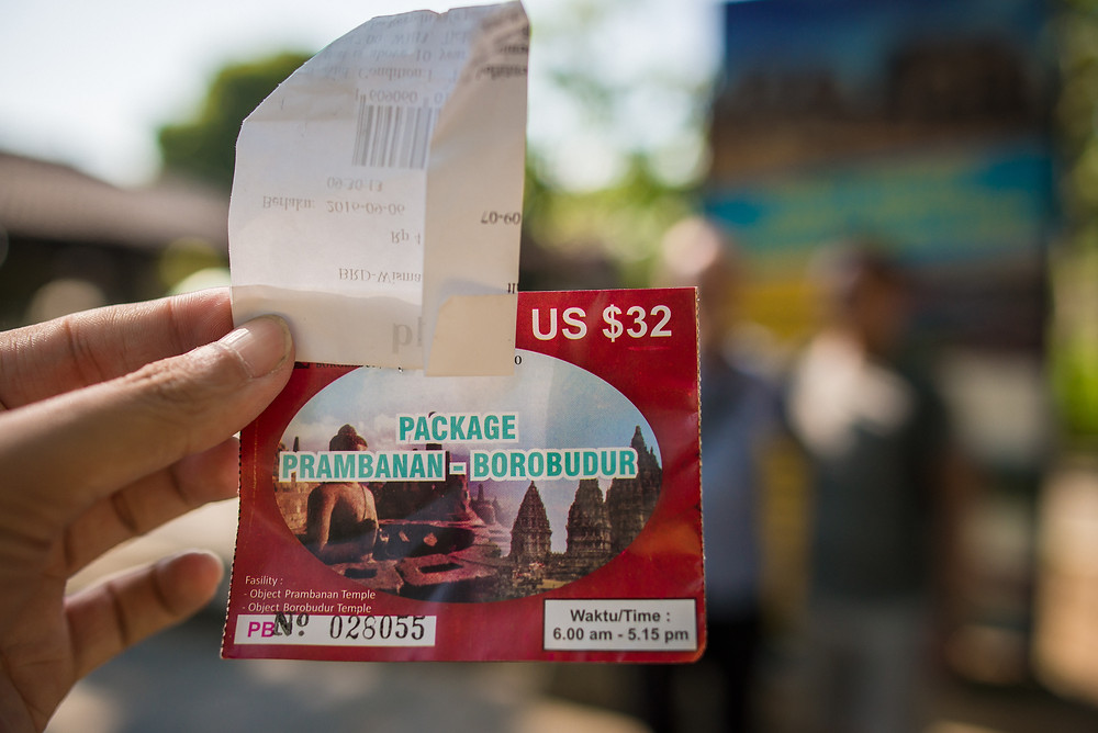 Combo ticket to visit Prambanan and Borobudur in two days