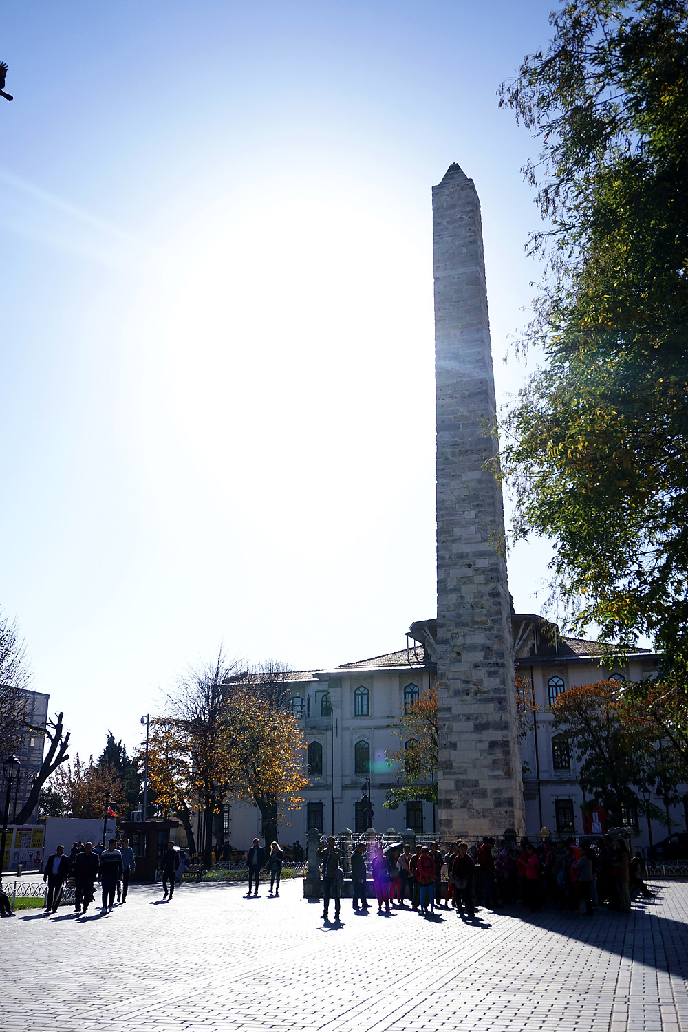 Another view of Walled Obelisk.