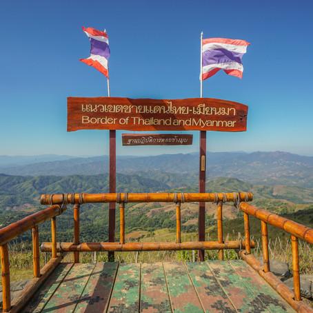 Road Trip - Phu Chi Fa to Chiang Rai