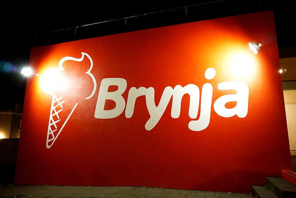 Famous Brynja ice cream shop.