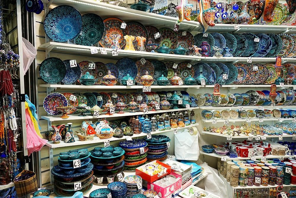 Beautiful ceramic tableware.