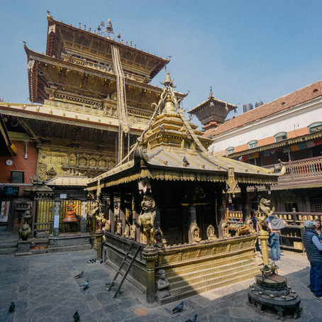 Patan, the Traditional Center of Handicrafts