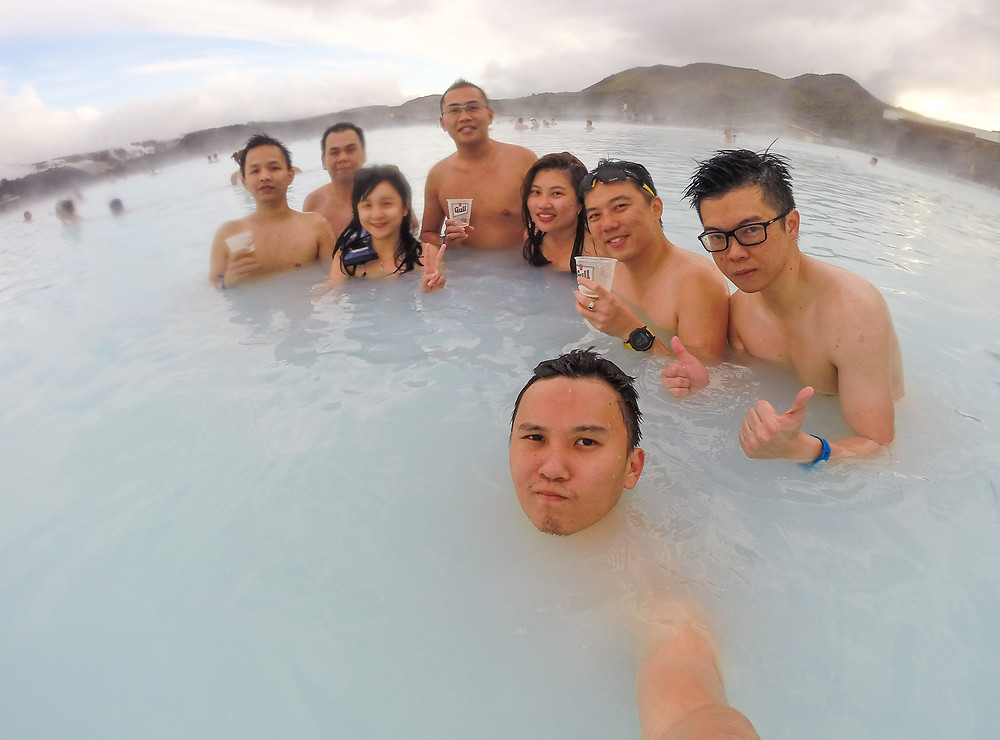 PPP in Blue Lagoon! - Photo credited to Hybrid.