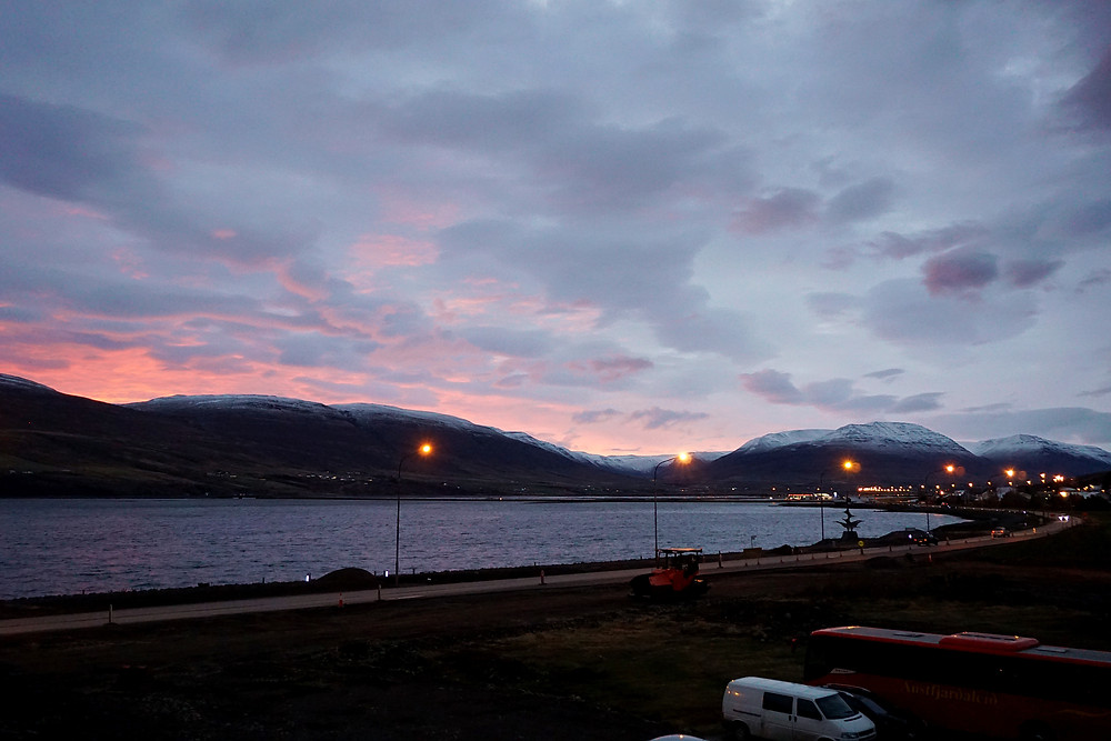 Good morning from Akureyri~