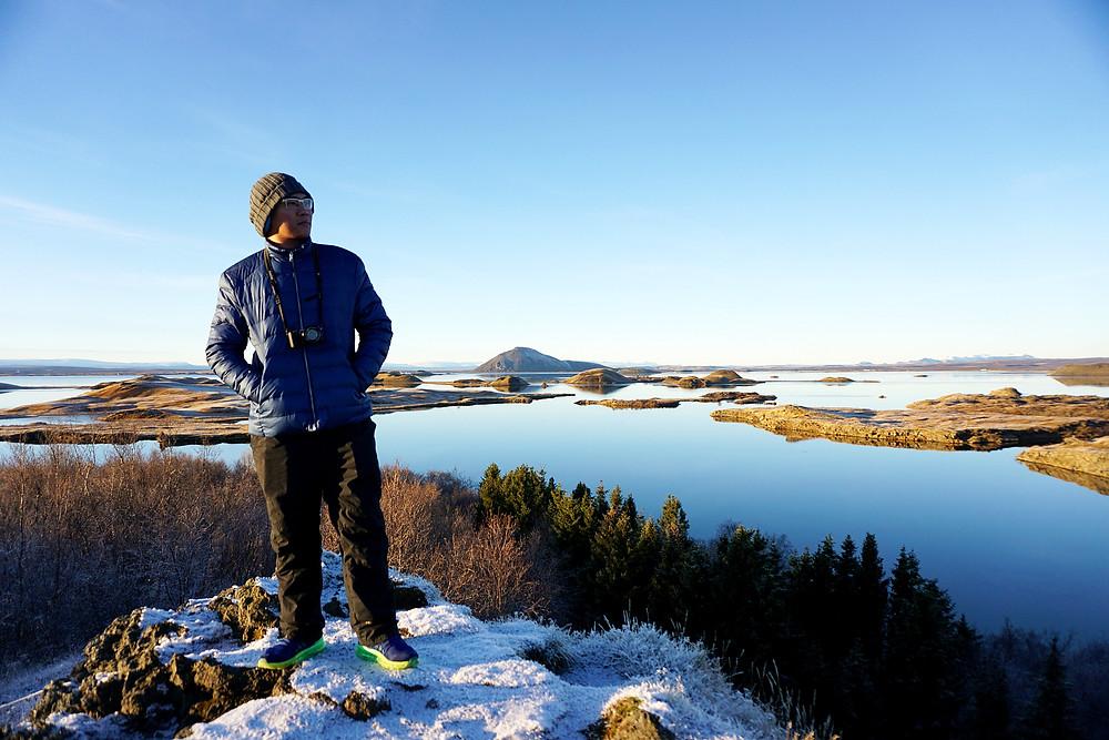 Gary via Myvatn Lake view.