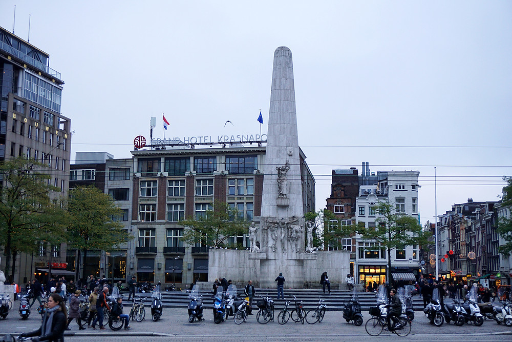 National Monument of Amsterdam.