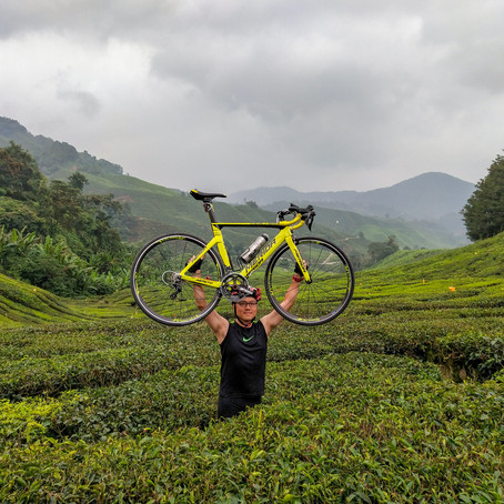 Bike Touring to Cameron Highland