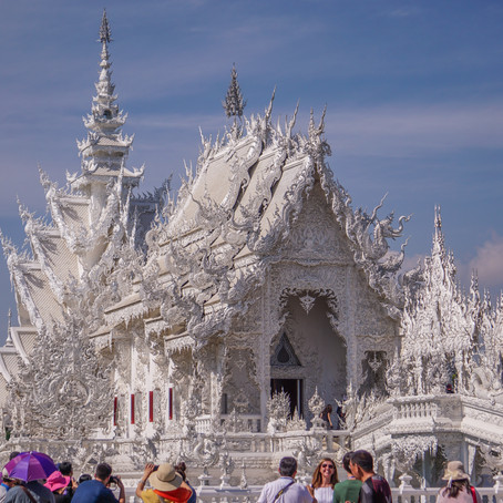 The Iconic White and Blue in Chiang Rai