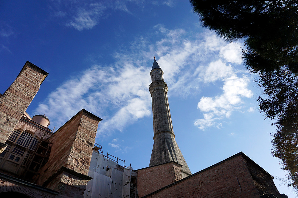 One of Hagia Sophia minerat.