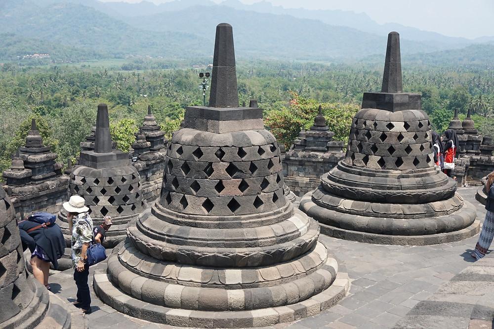 My lucky stupa and its Buddha statue