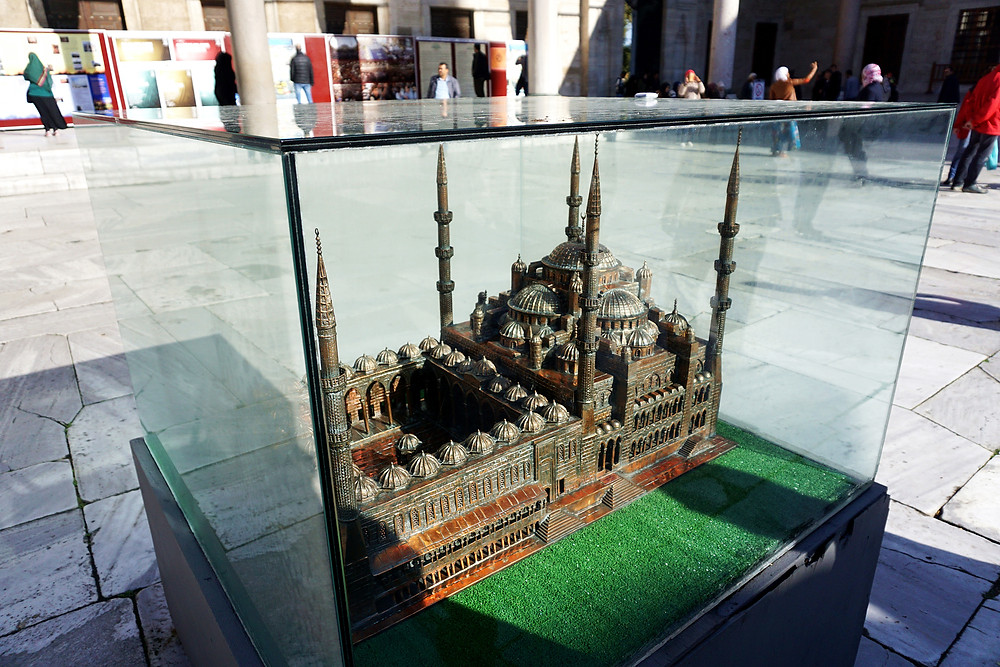 Miniature of Blue Mosque.
