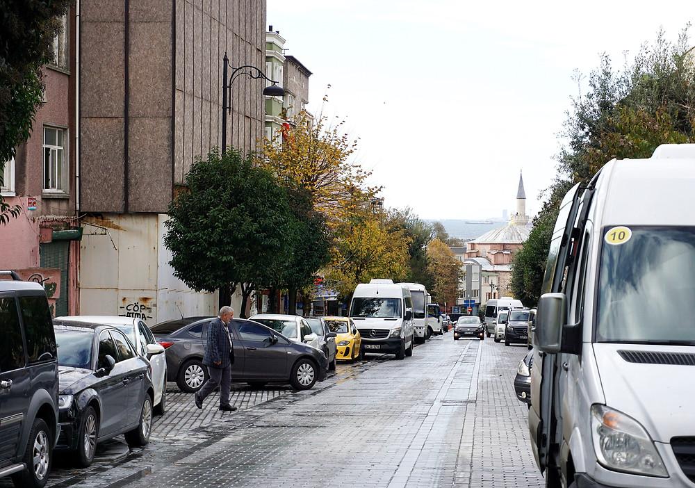 Street view along Tamara restaurant.