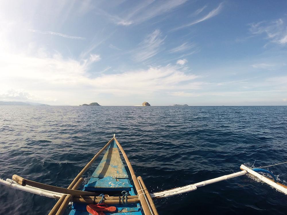 Heading toward the bald island!
