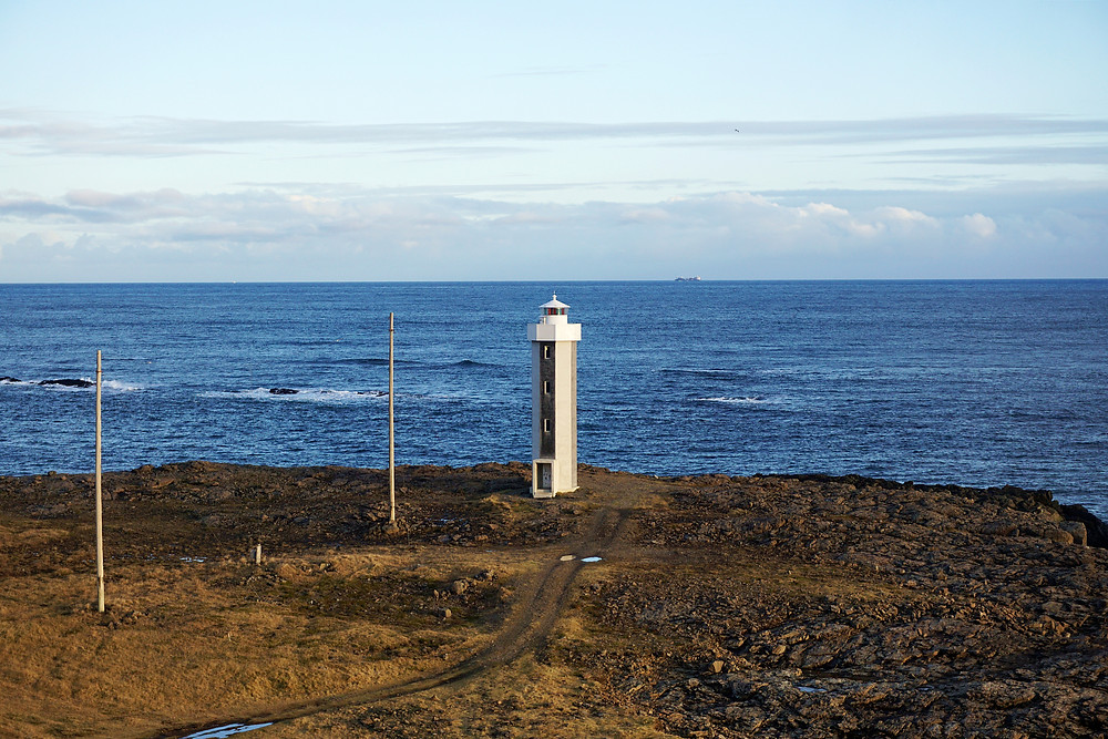 The Streitisviti Lighthouse.