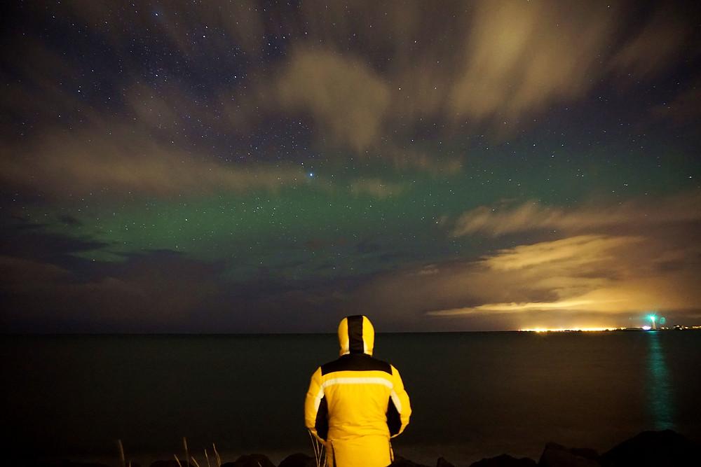 Minion with aurora!
