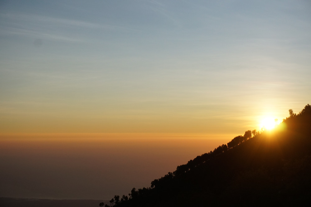 Good morning from top of Ijen!