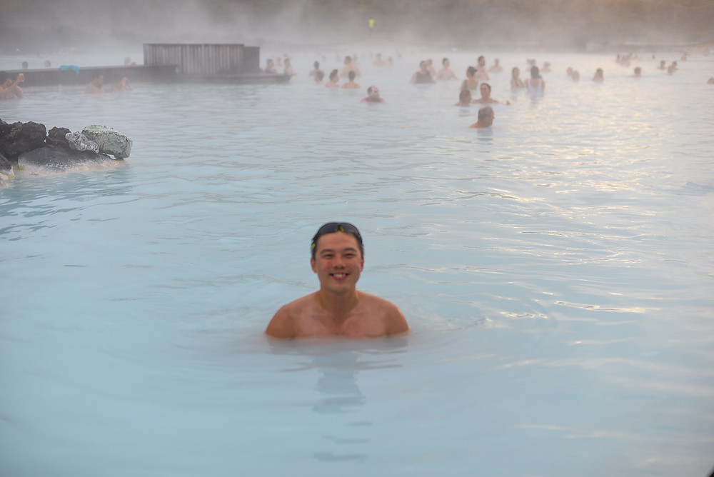 Me in blue lagoon~ - Photo credited to Hybrid.
