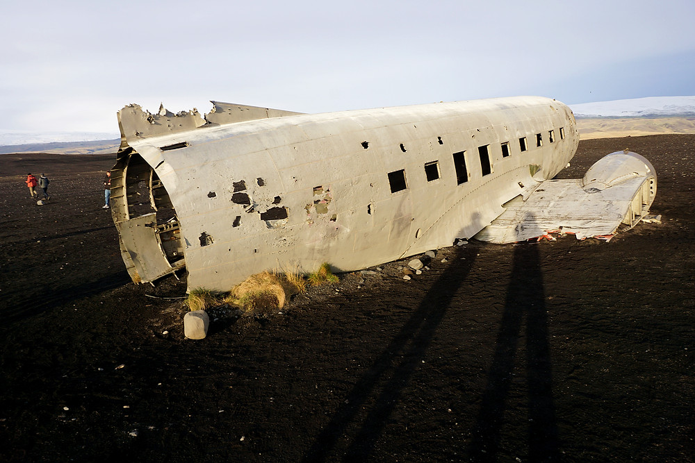 Right side of the plane is in better shape still.