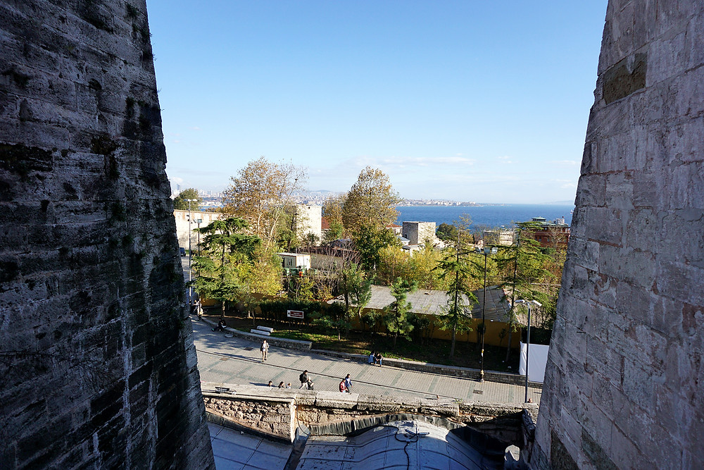 Exterior view from Hagia Sophia.