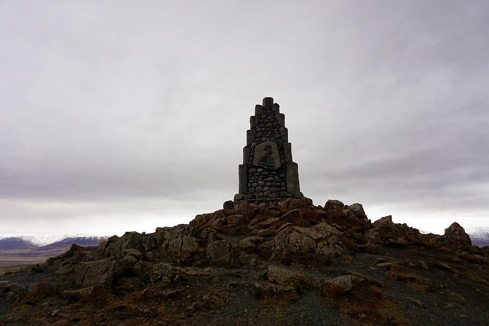 Monument of Stephan G.Stephansson.