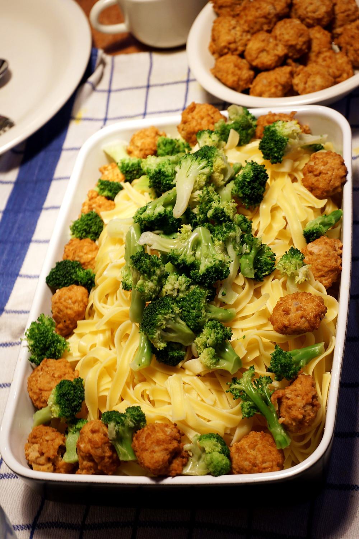 Our grand spaghetti dinner!