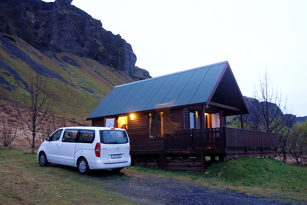 Our cottage as well with our car.