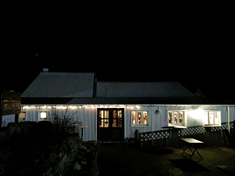 Not much like a restaurant, but some random farmer house in Iceland.