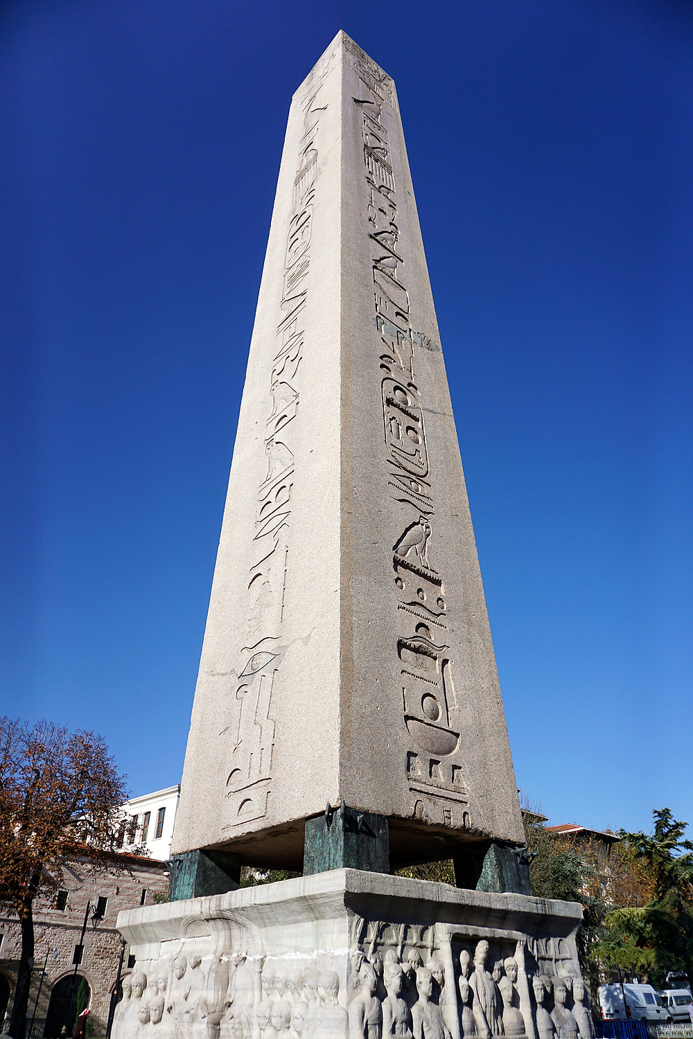 Very classic Egyptian symbol crafted in the monument.