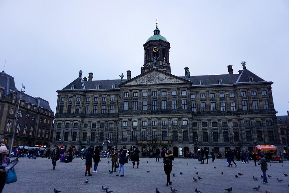 Koninklijk Paleis Amsterdam, the Royal Palace of Amsterdam.